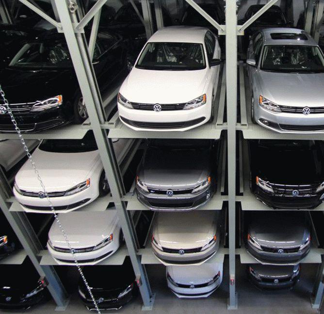 Car elevator parking systems — company «Altis-Lift». Фото 2
